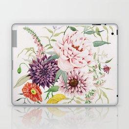 Dahlia, Foxglove, and Poppies Laptop & iPad Skin