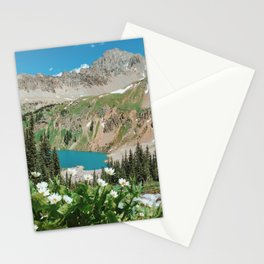 The Blue Lakes of Colorado Stationery Cards