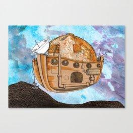 Nave : viagem no tempo Canvas Print