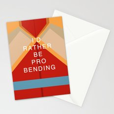 Korra Would Rather Be Probending Stationery Cards