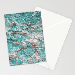 Amazonite Stone Stationery Cards