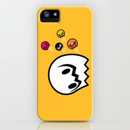 Halloween series - Popping Ghosts iPhone Case