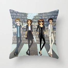 Beatlemania Throw Pillow