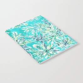 KAILUA CHILL Tropical Hawaiian Floral Notebook
