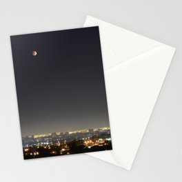 City Blood Moon. Stationery Cards