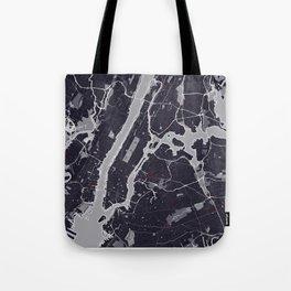 New York City Monochrome Tote Bag