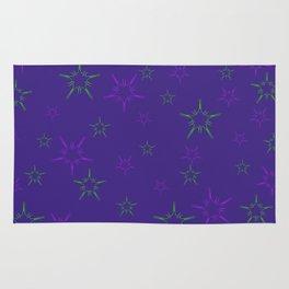 Purple Stars Rug