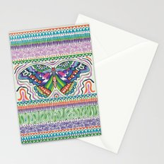 Tribal Butterfly Stationery Cards