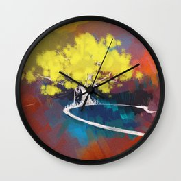 wonderland*2 Wall Clock