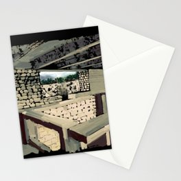 69 - IIMB stonework Stationery Cards