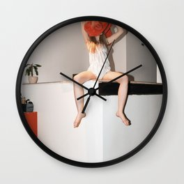 Party is Over Wall Clock