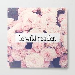 Le wild reader Metal Print