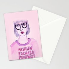 Fashion Forward Feminist Stationery Cards