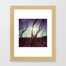 d r y Framed Art Print