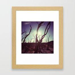 d r y Framed Art Print