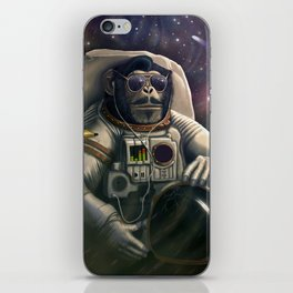 Space Farer iPhone Skin
