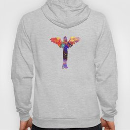Angel 595 Watercolor Map Yoga Quote Definition Des Hoody