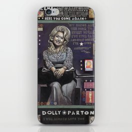 Dolly Parton iPhone Skin