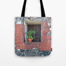 Plant on a Windowsill  Tote Bag
