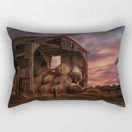 The Bale Barn Rectangular Pillow