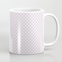 Orchid Ice and White Polka Dots Coffee Mug