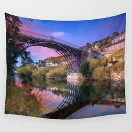 Iron Bridge 1779 Wall Tapestry