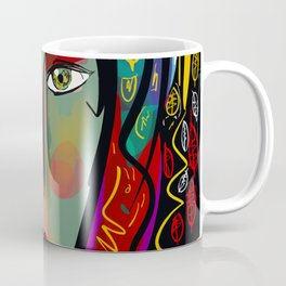 Just like Heaven Pop Art Portrait Coffee Mug