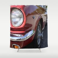 mustang Shower Curtains featuring Mustang by Inphocus Photography