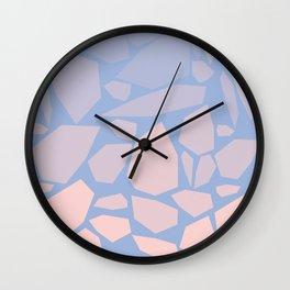 Pink gems Wall Clock