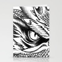 smaug Stationery Cards featuring Dragon Smaug by BeggaIng