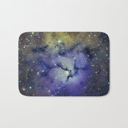 Pansy in Space Bath Mat
