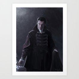Vampire of the Mists Art Print