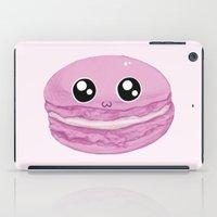 macaron iPad Cases featuring Macaron by GarethAdamson