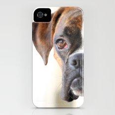 Boxer dog Slim Case iPhone (4, 4s)