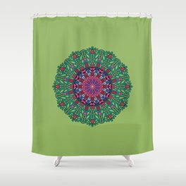 Exotic Flower 03 Shower Curtain