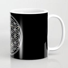 Flower of Life and Star of David Coffee Mug