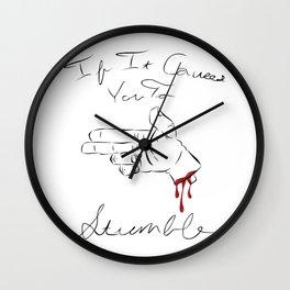 Cut It Off Wall Clock