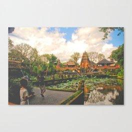 Fishing in Ubud Canvas Print