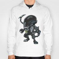 alien Hoodies featuring Alien by 7pk2 online