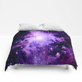 Orion nebUla. : Purple Galaxy Comforters