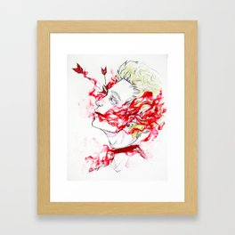 Bliss. Framed Art Print