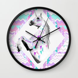 TWIN SHADOW by Vasare Nar and Kris Tate Wall Clock
