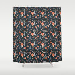 It's a cats' world! Shower Curtain