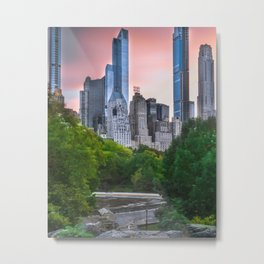 Central Park New York Metal Print
