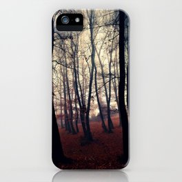 Horror Forest iPhone Case