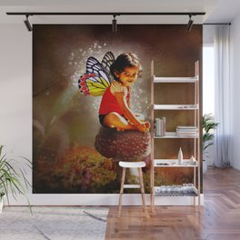 Indy Fairy Wall Mural