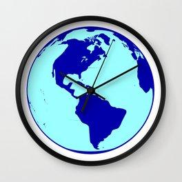 The Americas Globe Wall Clock
