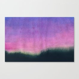 untitled (sunset) Canvas Print