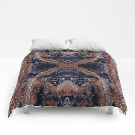 Golden Magma Comforters