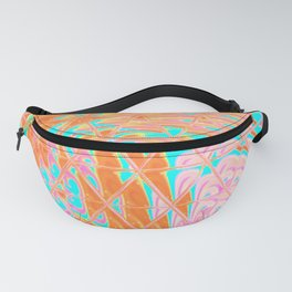 Triangle Glass Tiles 85 Fanny Pack